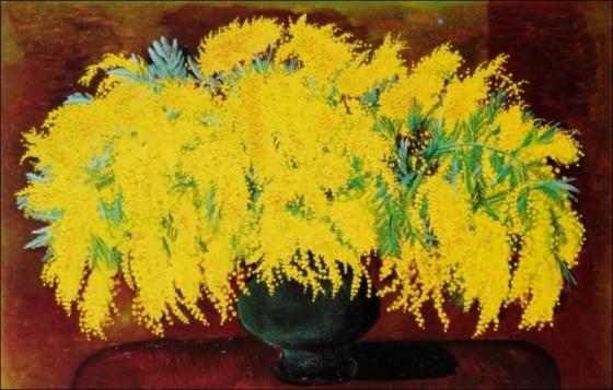 Kisling Moise 1938  Mimosas