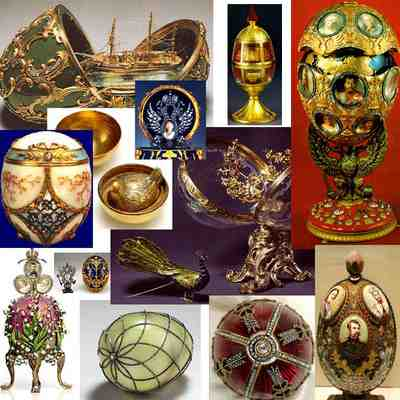paques faberge collage