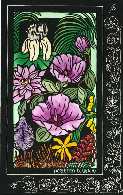 © Lynette Weir  Nation of Wildflowers Northern Territory Australian
